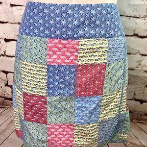 Vineyard Vines wrap skirt